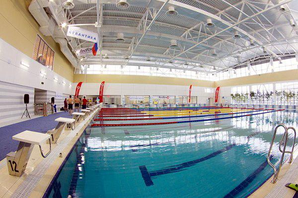 спортклуб бассейн рыбацкое