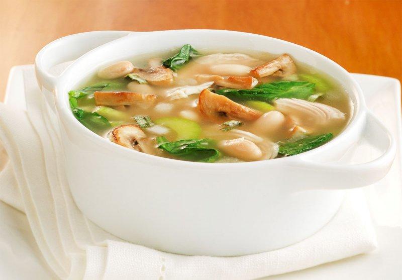 Суп с грибами шампиньонами рецепт с фото